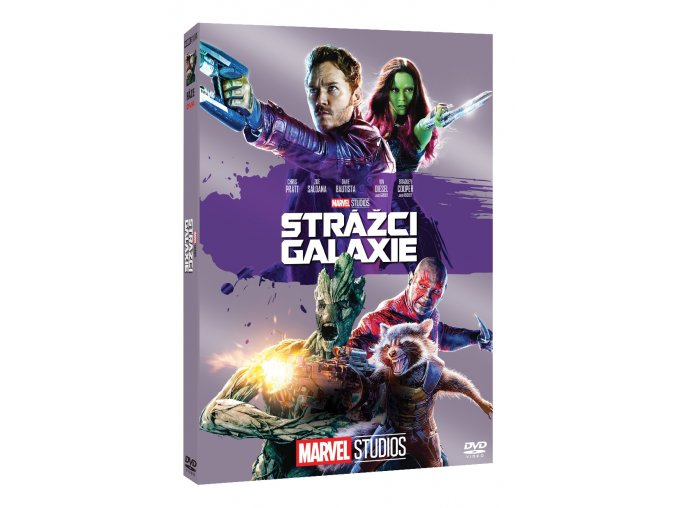 strazci galaxie edice marvel 10 let 3D O