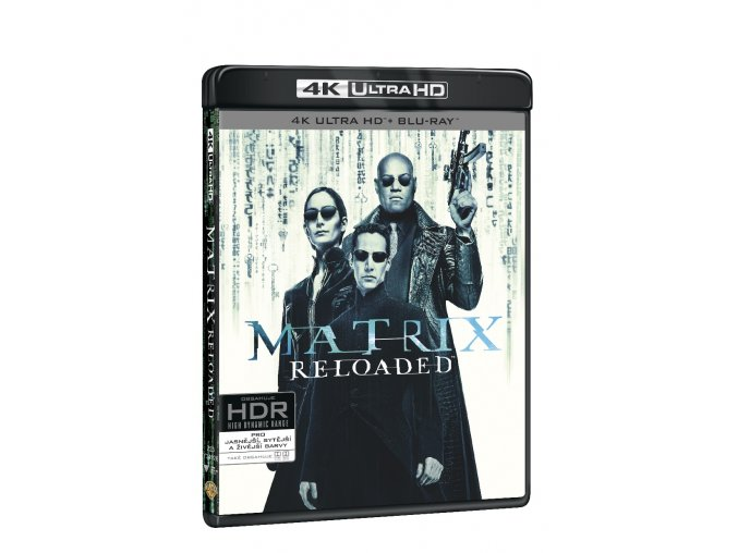 matrix reloaded 3bd uhd bd bonus disk 3D O