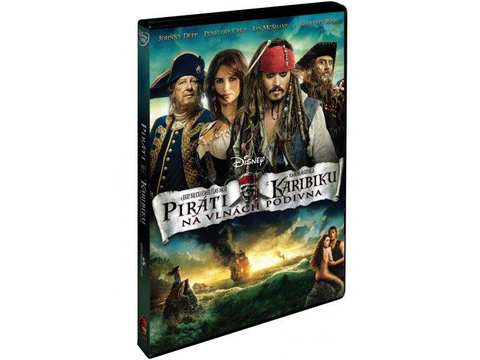 Piráti z Karibiku: Na vlnách podivna DVD