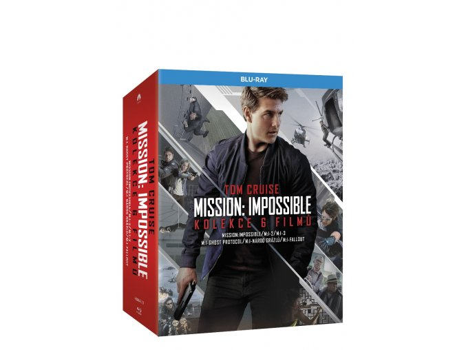 mission impossible kolekce 1 6 6blu ray 3D O