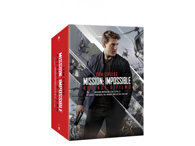 mission impossible kolekce 1 6 6dvd 3D O