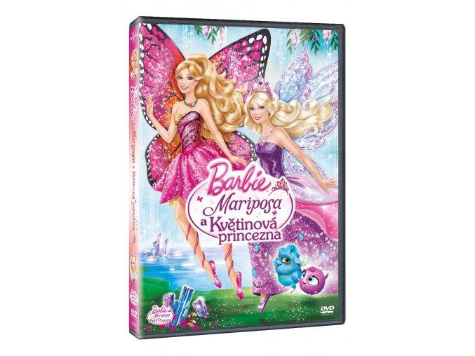 barbie mariposa a kvetinova princezna 3D O
