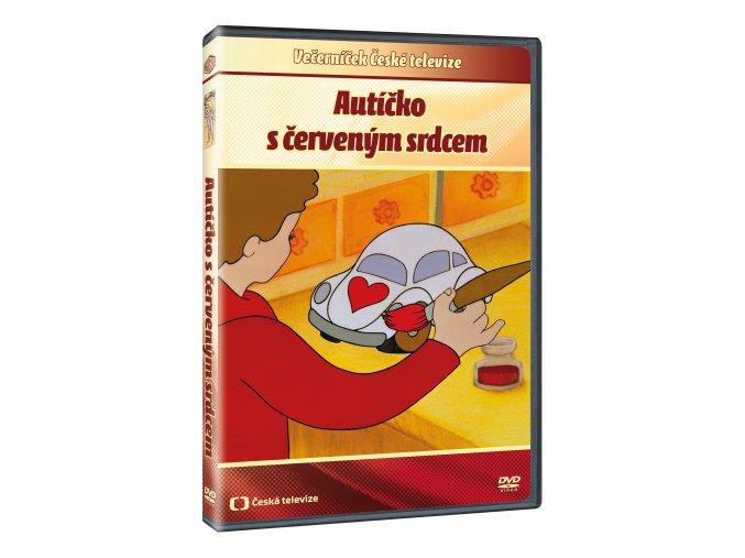 Autíčko sčerveným srdcem DVD