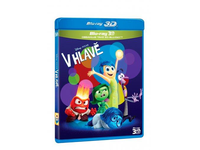 Blu-ray: V hlavě 2BD (3D+2D)