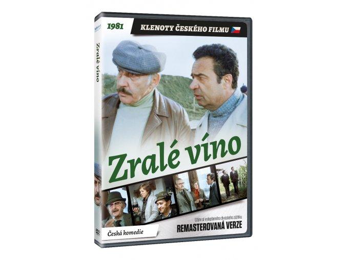 zrale vino dvd remasterovana verze 3D O