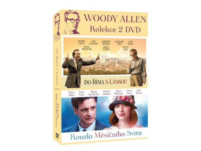 woody allen kolekce 2dvd kouzlo mesicniho svitu do rima s laskou 3D O