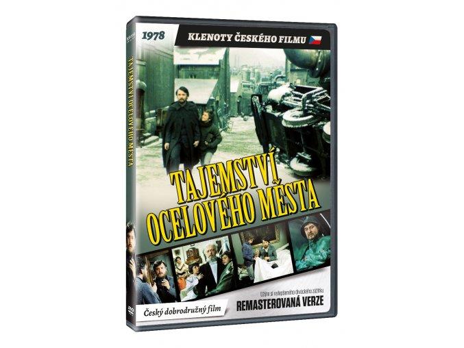 tajemstvi oceloveho mesta dvd remasterovana verze 3D O