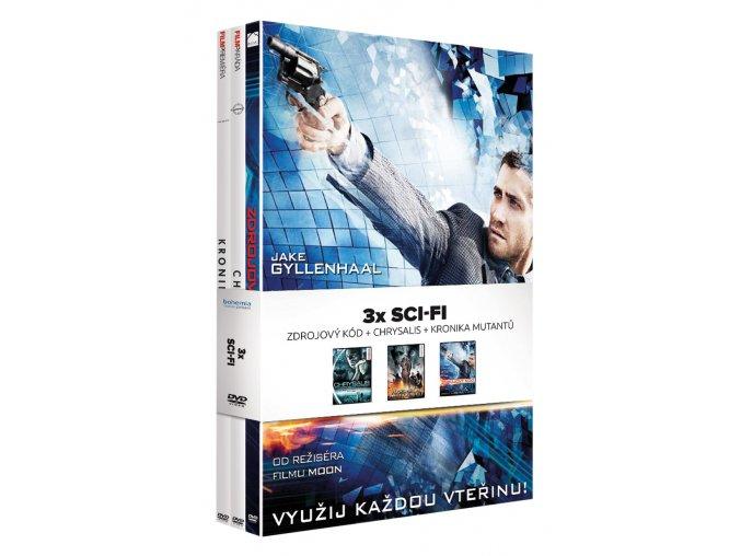 sci fi kolekce 3dvd 3D O