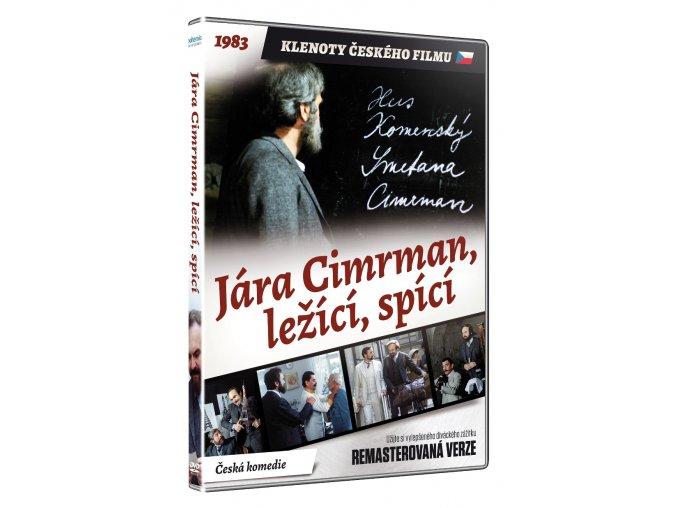 jara cimrman lezici spici dvd remasterovana verze 3D O