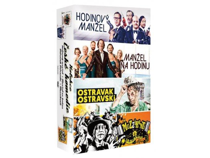 ceske komedie kolekce 4dvd 3D O
