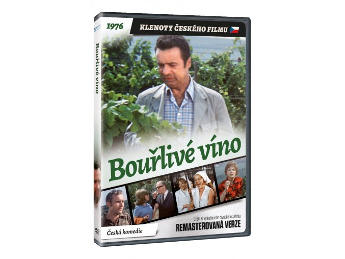 bourlive vino dvd remasterovana verze 3D O