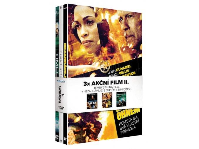 akcni film ii kolekce 3dvd nezahravej si s ohnem temny stin nad l a timecop 2 3D O