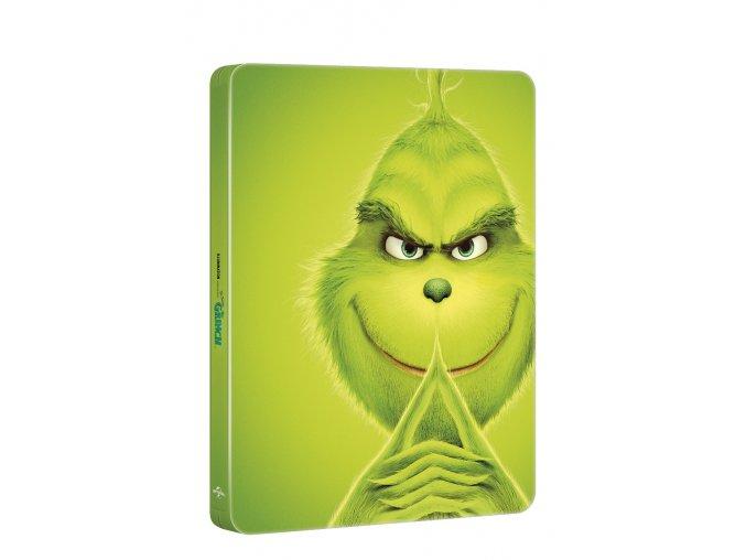 grinch steelbook blu ray 3D O