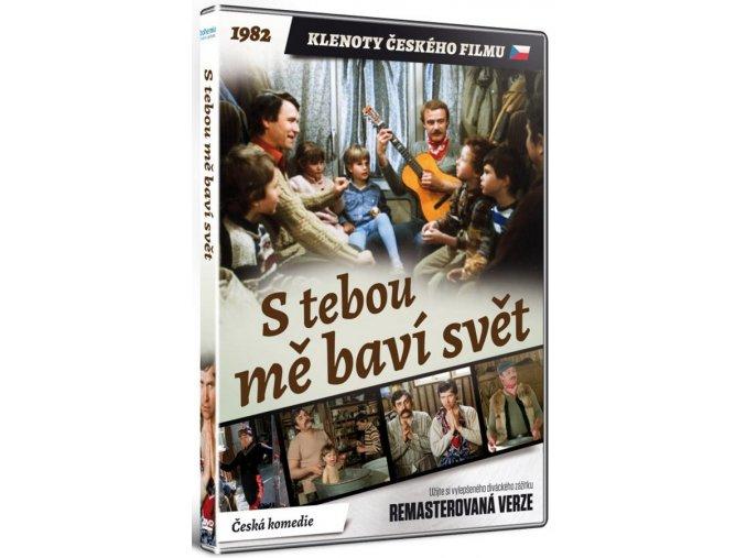 DVD: S tebou mě baví svět (remasterovaná verze)