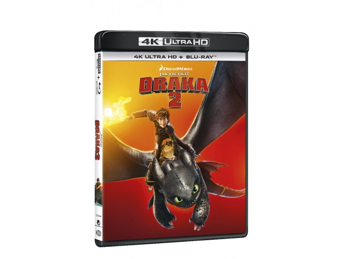 Blu-ray:Jak vycvičit draka 2 (4K Ultra HD) - UHD Blu-ray + Blu-ray (2 BD))