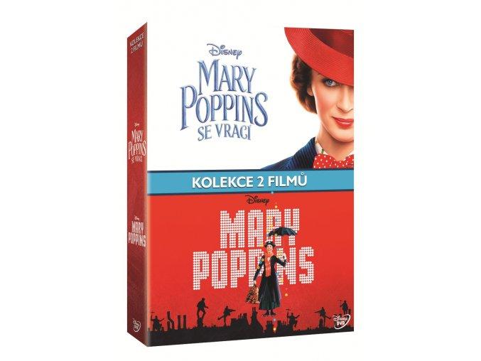 mary poppins kolekce 3dvd 3D O