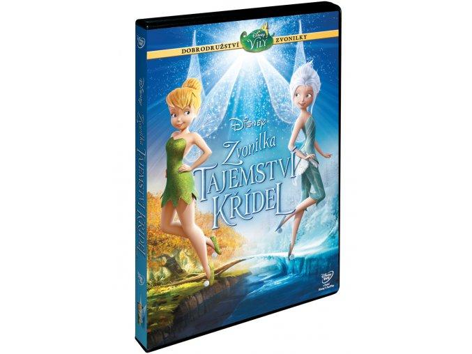 Zvonilka: Tajemství křídel DVD