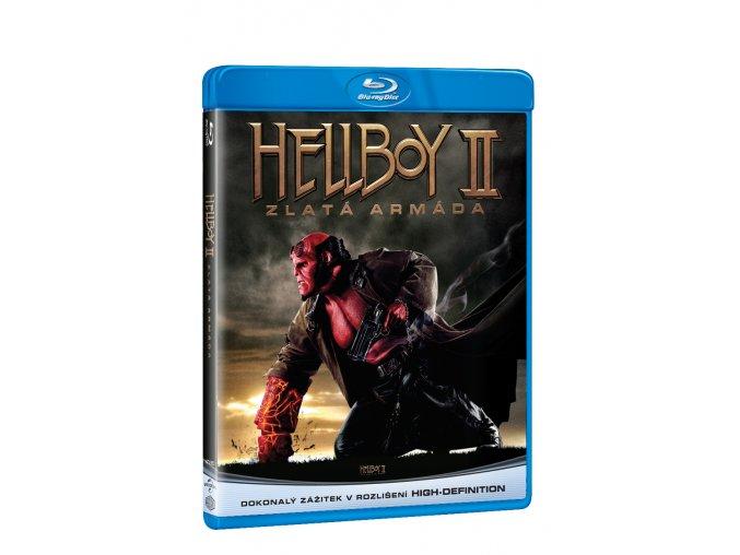 hellboy 2 zlata armada blu ray 3D O