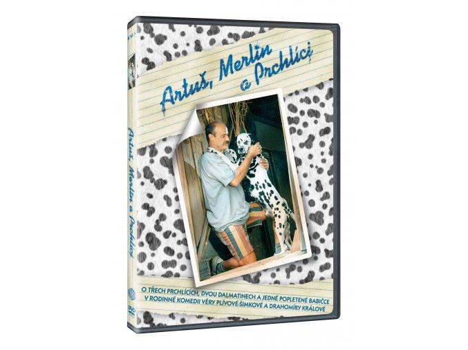 DVD: Artuš, Merlin a Prchlíci