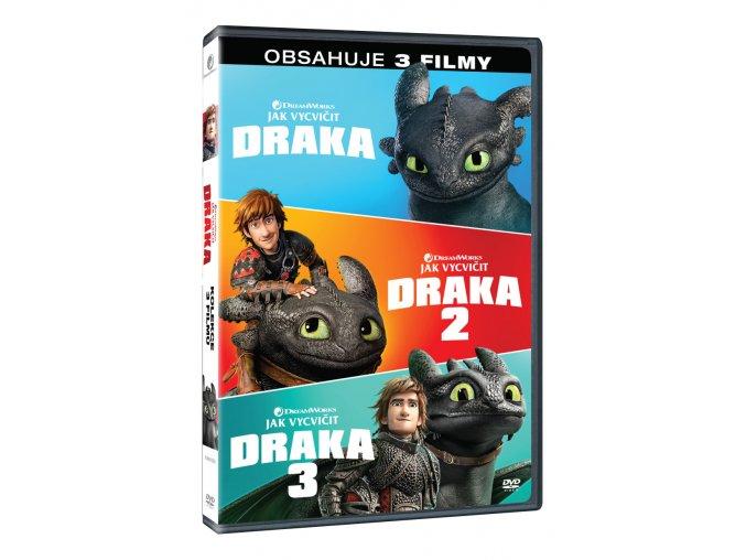 jak vycvicit draka kolekce 1 3 3dvd 3D O