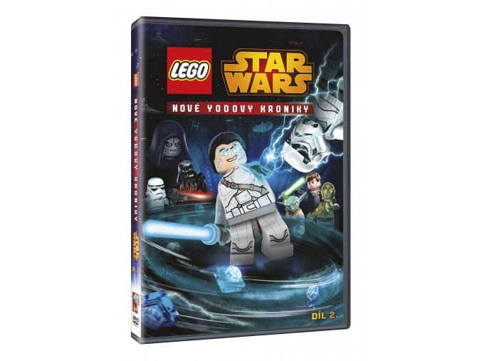 DVD: Lego Star Wars: Nové Yodovy kroniky 2