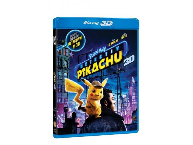 pokemon detektiv pikachu 2bd 3d 2d 3D O