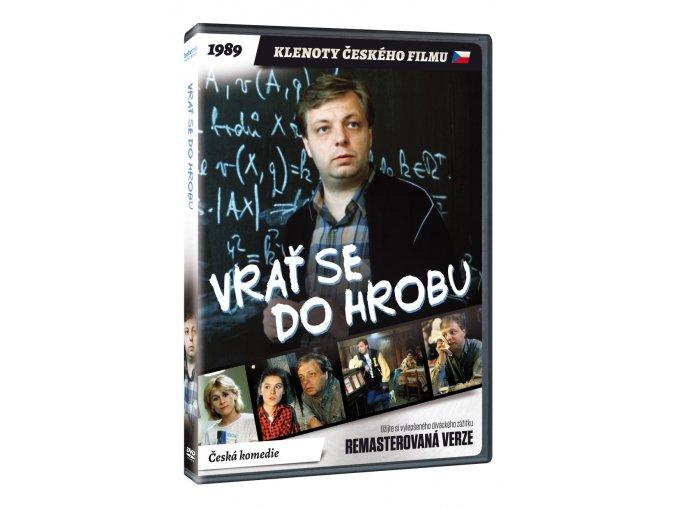 DVD: Vrať se do hrobu! (remasterovaná verze)