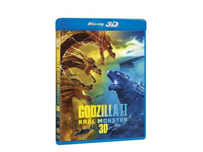 godzilla ii kral monster 2bd 3d 2d 3D O
