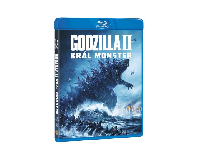 godzilla ii kral monster blu ray 3D O