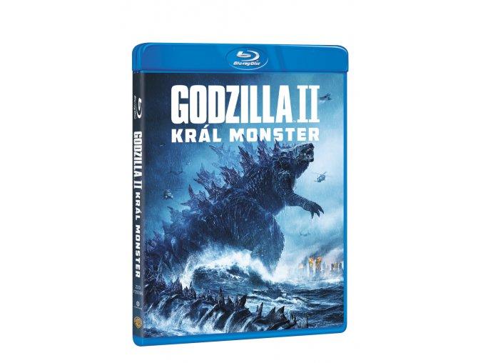 godzilla ii kral monster blu ray 3D O