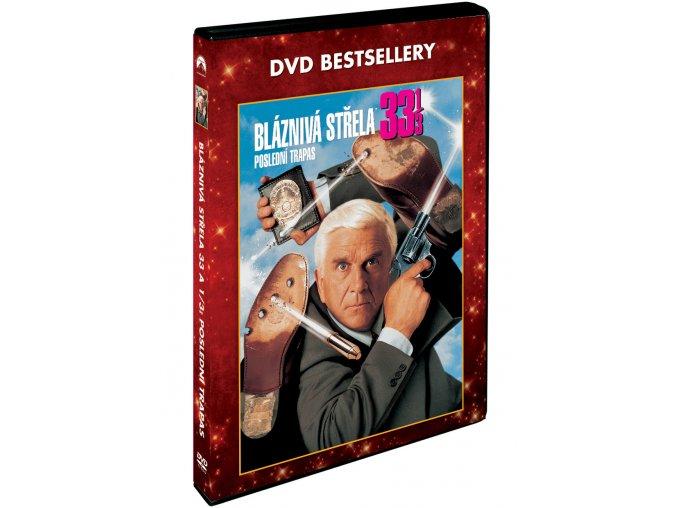 DVD: Bláznivá střela 33 a 1/3: Poslední trapas - DVD bestsellery