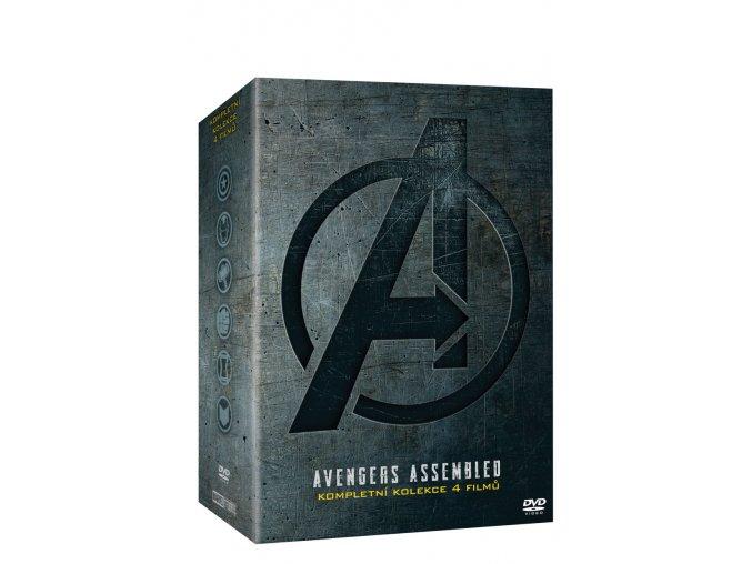 avengers kolekce 1 4 4dvd 3D O