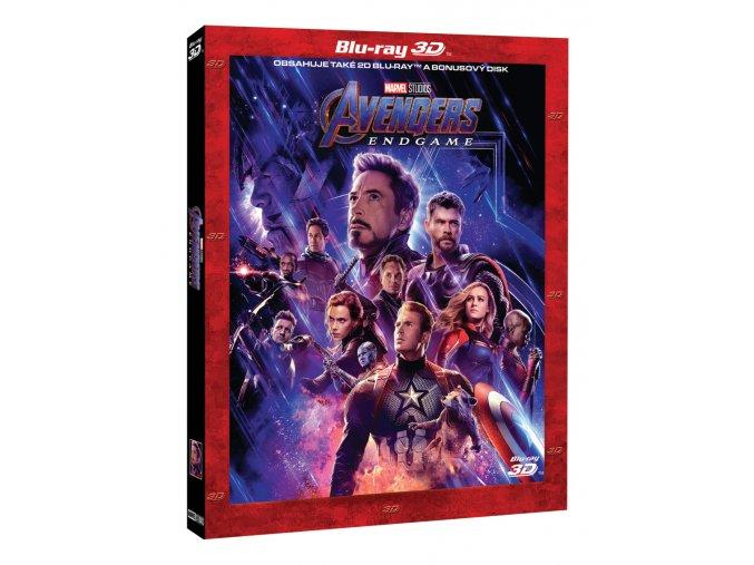 avengers endgame 3bd 3d 2d bonus disk limitovana sberatelska edice 3D O
