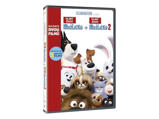 tajny zivot mazlicku kolekce 1 2 2dvd 3D O