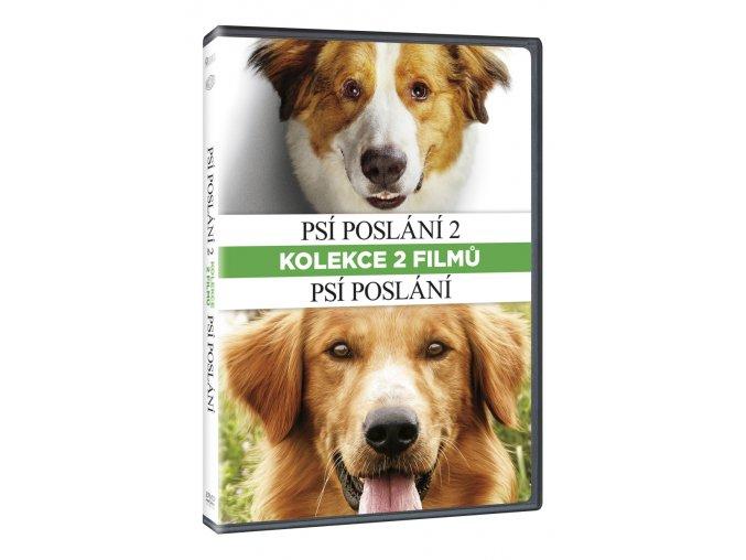 psi poslani kolekce 1 2 2dvd 3D O