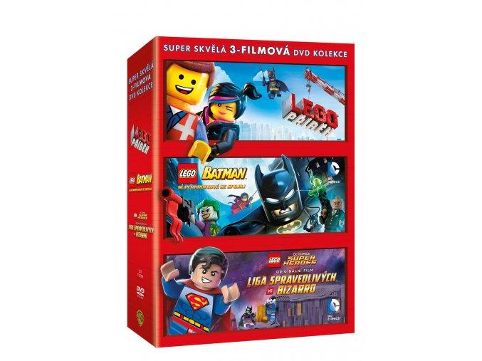 DVD: Lego kolekce 3DVD
