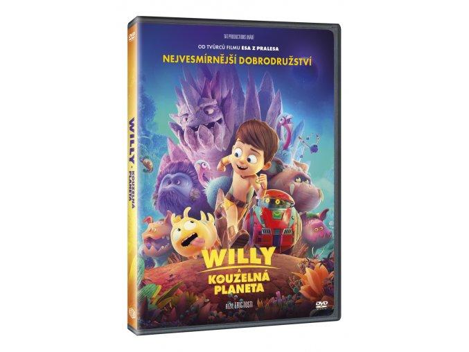 willy a kouzelna planeta 3D O