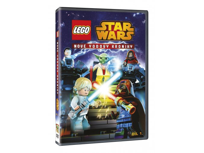 Lego Star Wars: Nové Yodovy kroniky 1 DVD