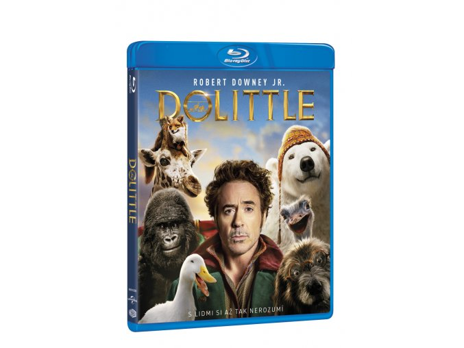 dolittle blu ray 3D O