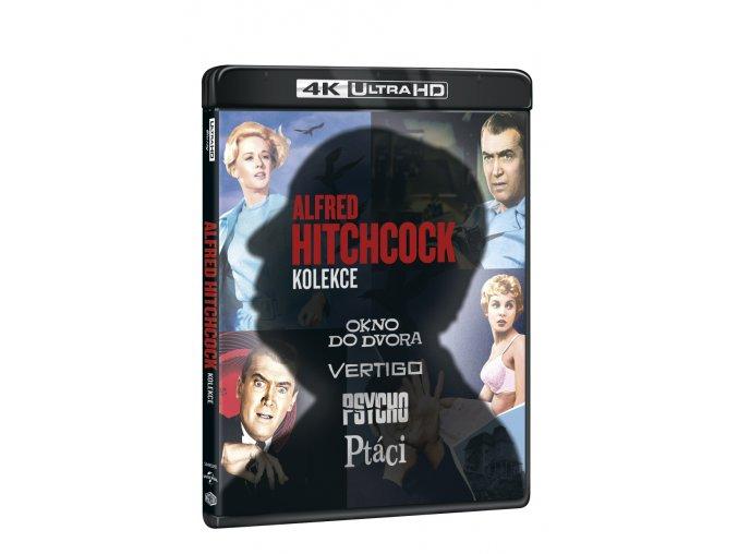 alfred hitchcock kolekce 4bd blu ray uhd 3D O