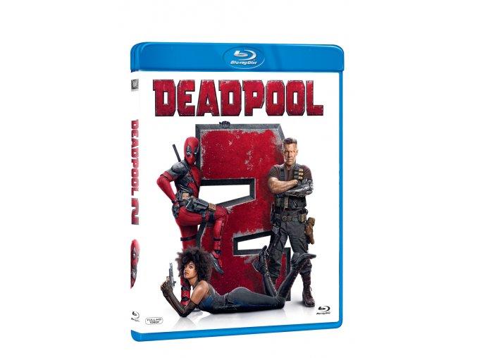 deadpool 2 blu ray 3D O