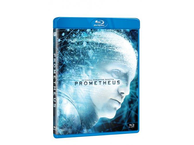 prometheus blu ray 3D O