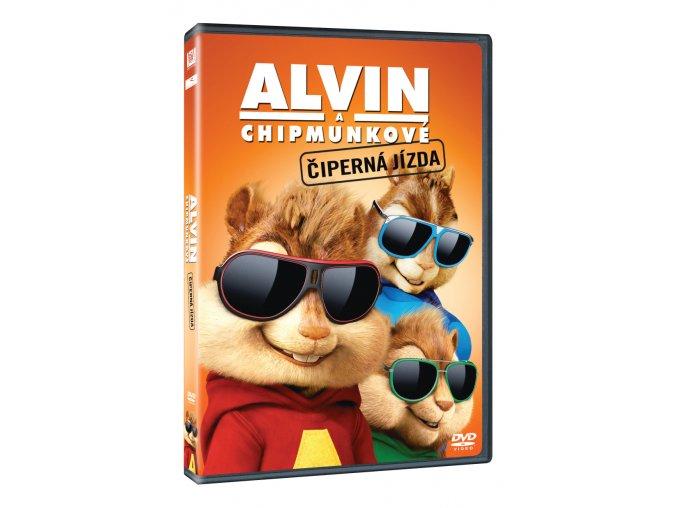 alvin a chipmunkove ciperna jizda 3D O
