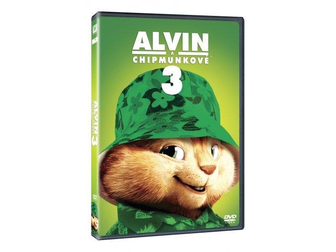 alvin a chipmunkove 3 3D O
