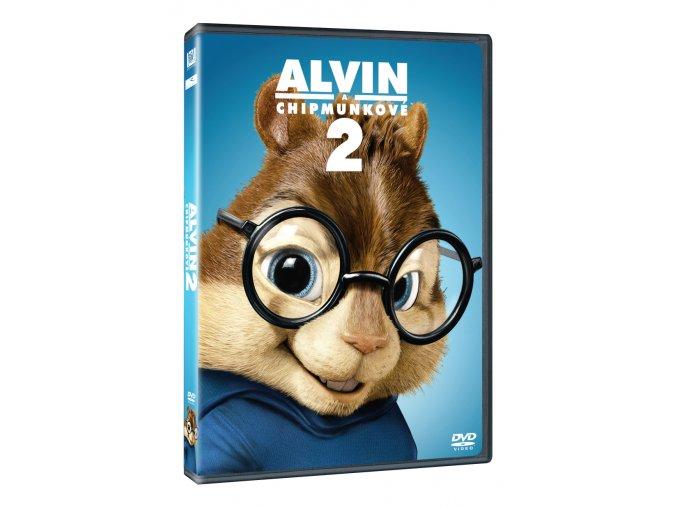 alvin a chipmunkove 2 3D O