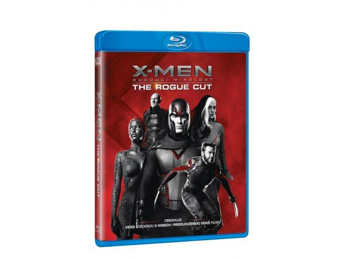 x men budouci minulost the rogue cut blu ray 3D O