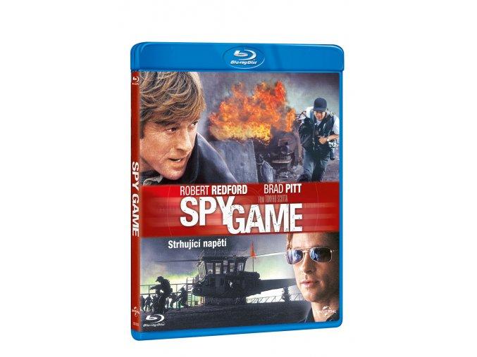 spy game blu ray 3D O