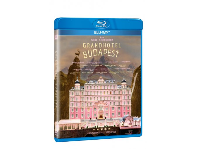 grandhotel budapest blu ray 3D O
