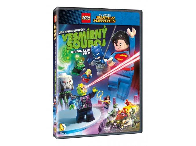 Lego DC Super hrdinové: Vesmírný souboj DVD