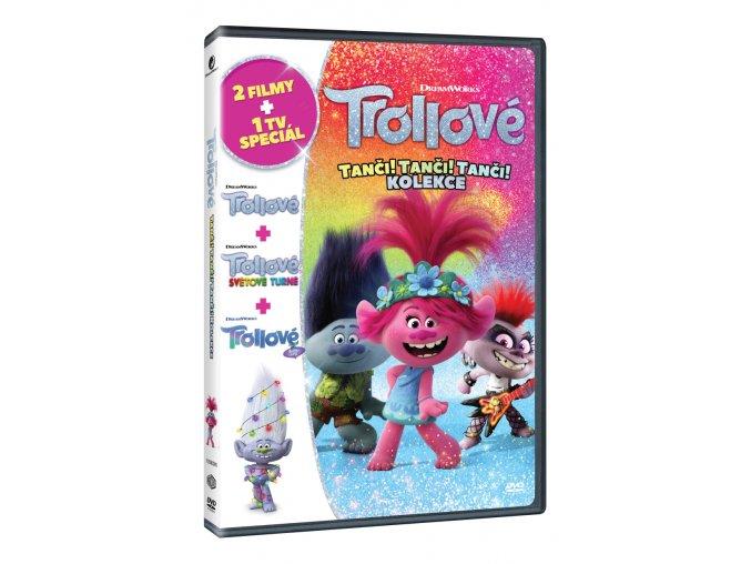 trollove tanci tanci tanci kolekce 3dvd 3D O